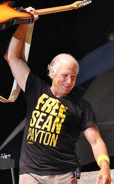 Free Sean Payton...even Jimmy Buffet says so!     If it all goes South, it looks like Sean plays a mean bongo!