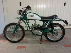 Demm - Cross HF - 49 cc - 1970 Vintage Moped, Antique Auctions, Motorcycle, Bike, Antiques, Vehicles, Bicycle, Antiquities, Antique