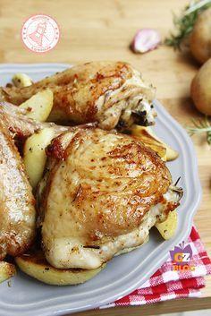 Rotisserie Roast chicken - Pollo Arrosto come in Rosticceria ricetta infallibile
