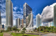 Panama - the skyscrapers and the city.   #travel #urban