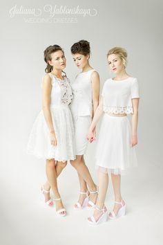 spring-summer collection 2016 de Juliana Yablonskaya yablonskaya.com Girls Dresses, Flower Girl Dresses, Spring Summer, Wedding Dresses, Fashion, Dresses Of Girls, Bride Dresses, Moda, Bridal Gowns