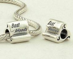 CLFJ077C 925 Sterling Silver Best Friend Pandora Charms beads Jewelry Pandora Friendship