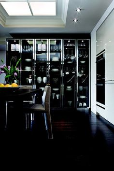 HOT kitchen! by SieMatic by yesenia MY fave !LOVE the leather handles on today's pic.No more finger prints!