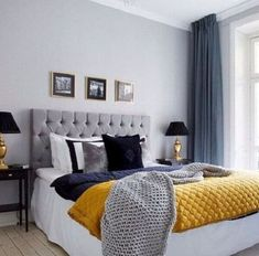Magnificent Small bedroom decorating design ideas,Bedroom remodel room makeovers paint and Diy master bedroom remodel. Comfy Bedroom, Gray Bedroom, Home Decor Bedroom, Bedroom Ideas, Master Bedroom, Bedroom Bed, Bed Room, Bedroom Furniture, Furniture Design