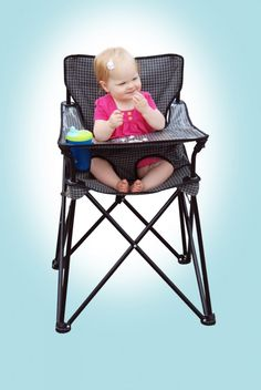 Portable High Chair | ciao! baby. This would be great for camping