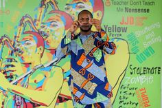 Teju Cole at Fela Kuti's house in Lagos