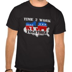 Time to Work Together T Shirt