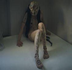 Synesthesia Garden - a weird art + style blog   » Blog Archive » Witch Priestess Body Art