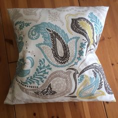Making your own cushion!