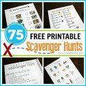 75 FREE Printable Scavenger Hunts - My Joy-Filled Life