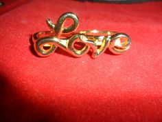 ANEL DUPLO LOVE DOURADO R$89,99