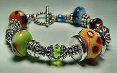 Enamels.   Second bracelet I made when I first started about 10 years ago.