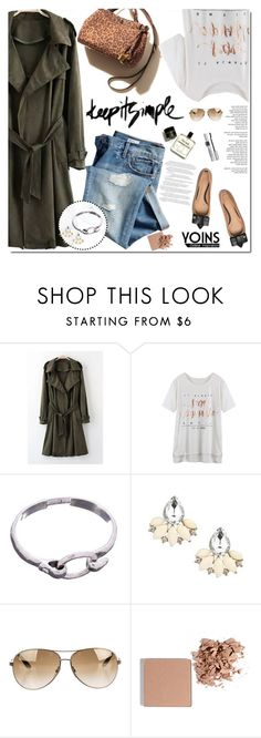 """""""Yoins coat"""" by sinsnottragedies ❤ liked on Polyvore featuring Gap, Tory Burch, Tom Ford, Trish McEvoy, Christian Dior, yoins, yoinscollection and loveyoins"""