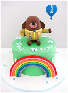 Kids birthday cake design featuring the popular Hey Duggee from ABC Kids – Lace Wedding Cake Ideas Birthday Cake Kids Boys, Unique Birthday Cakes, 3rd Birthday Cakes, Novelty Birthday Cakes, Novelty Cakes, Birthday Badge, Abc For Kids, 4 Kids, Party Cakes