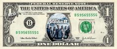 Fast Furious 8 - Real Dollar Bill Cash Money Collectible Memorabilia Celebrity Novelty by Vincent-the-Artist, $7.77 USD