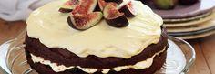 Burnt Fig Jam & Almond Cake