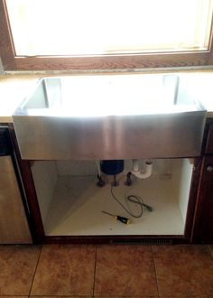 Best How To Install An Apron Sink In A Stock Cabinet Kitchen 400 x 300