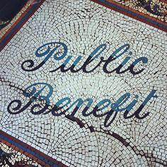 Public benefit. Malton #typography, via Flickr.
