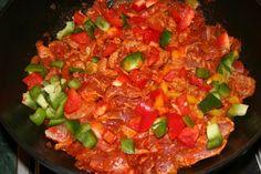 Mexická fazuľa trochu inak (fotorecept) - obrázok 3 Paella, Ethnic Recipes, Food, Essen, Meals, Yemek, Eten