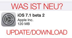 iOS 7.1 beta 2: Download, Update, Installation, Neuerungen, Video - http://apfeleimer.de/2013/12/ios-7-1-beta-2-download-update-installation-neuerungen-video - Apple stellt iOS 7.1 beta 2 zum Download für Entwickler bereit und verbessert mit der zweiten iOS 7.1 Beta nochmals die Performance: Animationen laufen nun nochmals schneller ab. Das Update auf iOS 7.1 beta 2 wird über OTA (Over-The-Air) ausgeliefert, Nutzer OHNE Apple Developer Account sollten j...