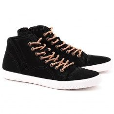 Budoni - Czarne Zamszowe Trampki Męskie - 3686-040-20 High Tops, High Top Sneakers, Shoes, Shopping, Fashion, Moda, Zapatos, Shoes Outlet, Fashion Styles