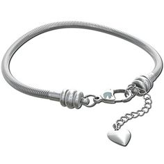 COMPATIBLE FIT with all brands of standard sized European #charm #bracelet and necklace beads and charms like Trollbeads Chamilia Hallmark Kays LoveLinks Brighton...