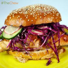 BBQ Salmon Sandwiches by Mario Batali! #TheChew