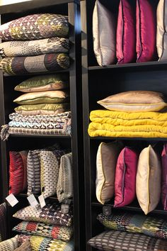 Cushion display at www.morebydesign.com