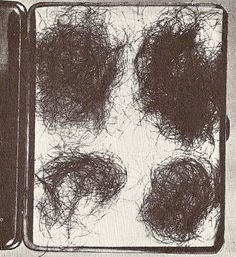 The tobacco tin with pubic hair fetishes that John Reginald Halliday Christie kept as trophies.  Interestingly, the hair samples were NOT from the women he killed then raped at 10 Rillington Place ...