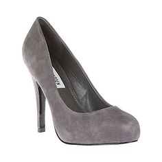 remmedy patent suede round toe high heels by steve madden