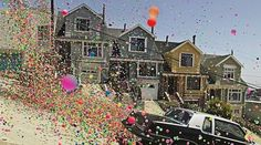 San Francisco Bouncy Balls - Photo by Peter Funch