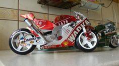 Moto GP ( aluminium ) handmade by (faisal rizal )