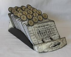 Gorgeous altered Rolodex from shadetreeart on Etsy. I'm envisioning it on my desk. :) I am in love!