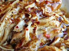 Crock Pot Sweet Garlic Chicken Recipe | Just A Pinch Recipes