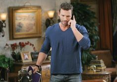 Week of 6/16/14 | Days of our Lives | NBC    Brady reacts in jeaiousy when he finds Theresa with Aiden.