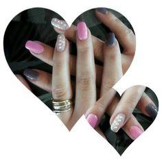 Some Perls #nails #nailart