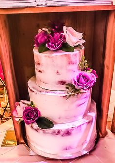 Rustic Wedding Cake by Cakes By Roma South Asian Wedding, How To Show Love, Rustic Wedding, Wedding Cakes, Seasons, Desserts, Food, Wedding Gown Cakes, Tailgate Desserts