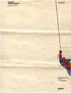 マーベル・コミック・グループのレターヘッド