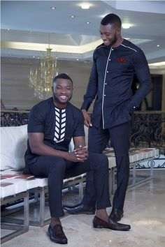 African Clothing for Men Traditional African Print by MalvisCo African Clothing For Men, African Shirts, African Men Fashion, Mens Fashion, African Attire, African Wear, Nigerian Traditional Attire, Men Street, Trending Outfits