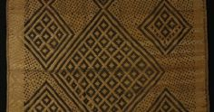 This is a fine early mat, Bakongo culture – DRC.Early 20th cent.Woven from flat strands of cane, rare mats like this would have decorated the royal household. The design dates to a early period & found only in the lower Congo.Ex private UK coll.Ref plate x1 'African Design' Margret Trowell. 59 x 127cm - Gallery - Tribal Gathering London - Bryan Reeves Tribal Gathering London – Bryan Reeves