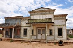 Movie set at Bonanza Creek Ranch, photo Steve Collins Old Buildings, Abandoned Buildings, Abandoned Places, Old Western Towns, Western Homes, Old West Town, Old Town, Westerns, Western Saloon