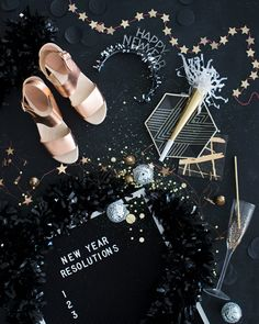 Are we continuing the Celebrations through the weekend, or are we all partied out? Our New Year Sale ends at MIDNIGHT! Get your orders in before it's TOO LATE! Christmas Flatlay, Christmas Mood, Party Monster The Weeknd, Happy Day, Happy New Year, Bryr Clogs, New Year New Me, Nye Party, Flat Lay Photography