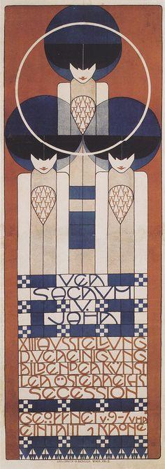 Plakat für die XIII. Secessionsausstellung - Koloman Moser (1902)