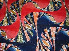 Modern Japanese quilt
