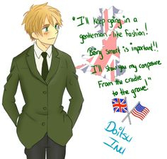 The Invincible British Gentleman < ---This is why I love Arthur way too much to be put into words. | go Arthur!