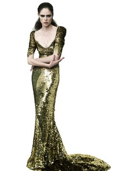 Head to toe sparkles by my favorite dress designer in the whole wide world, ZP