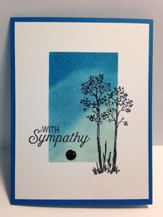 My Creative Corner!: An In the Meadow and Flourishing Phrases Masculine Sympathy Card and Sponged Panel Technique