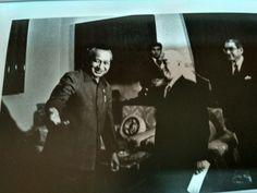 Presiden Soeharto menerima Sumitomo Group dipimpin S Hotta 12 November 1973