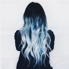 blue hair don't cur