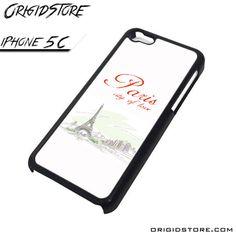 Paris City Love Case For Iphone 5C Case